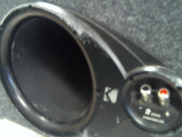 """KICKER Car Speakers/Speaker System DUAL 12"""" SUBS WITH BOX"""