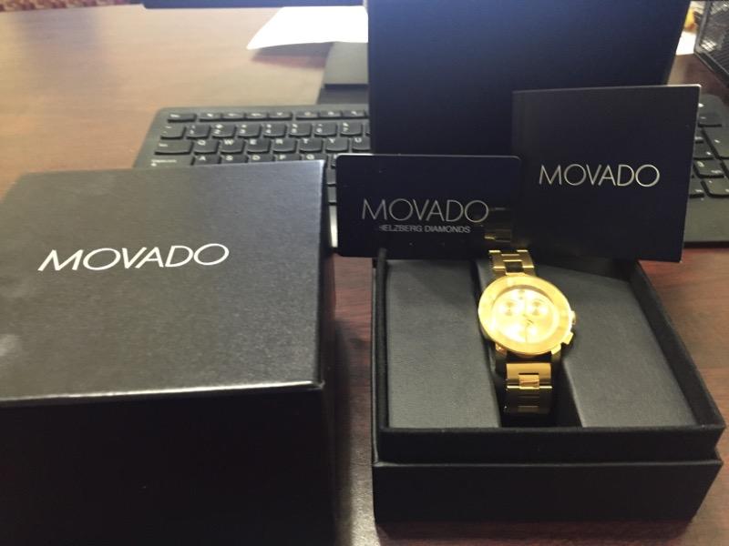 MOVADO Gent's Wristwatch MB.01.3.34.6026