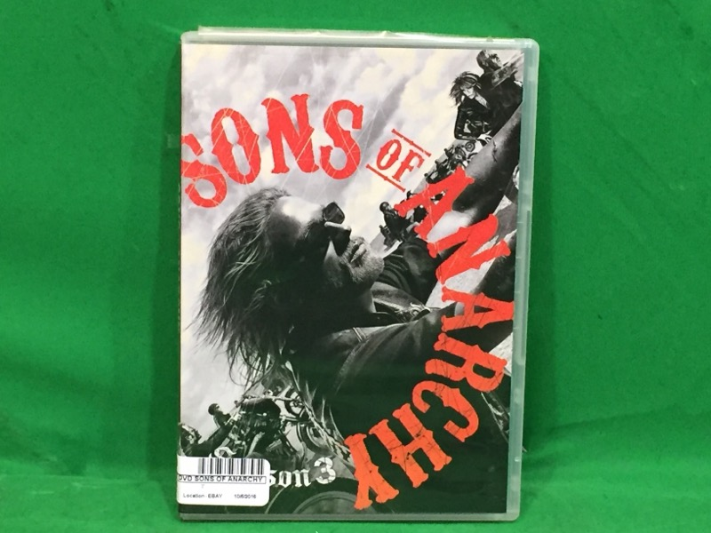Sons of Anarchy: Season Three (DVD, 2011, 4-Disc Set)