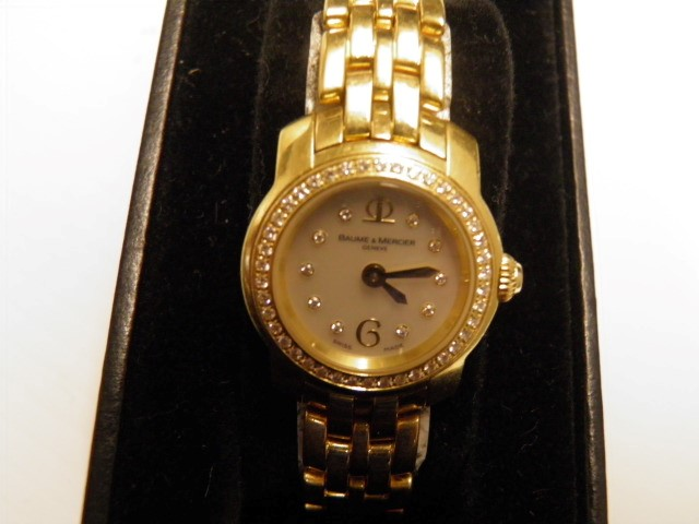 Baume & Mercier 18k Lady's Wristwatch