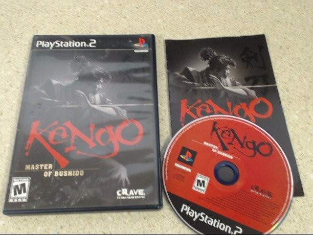 KENGO: MASTER OF BUSHIDO - PLAYSTATION 2 GAME