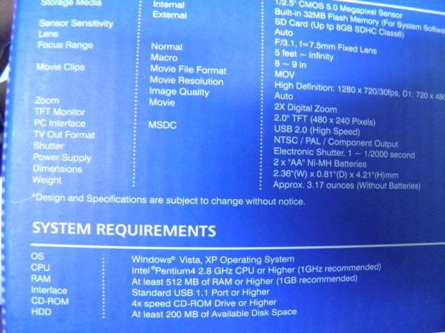 DXG Digital Camera DXG-567V HD