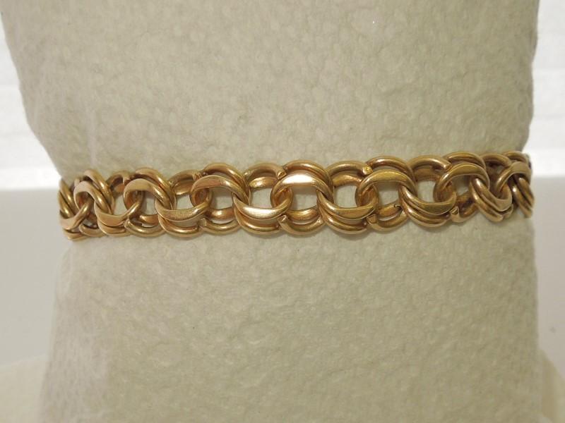 Gold Bracelet 14K Yellow Gold 22.2g