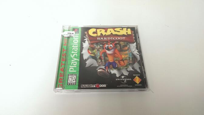 SONY PS1 CRASH BANDICOOT