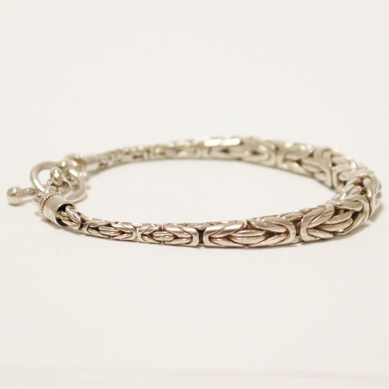"8"" Sterling Silver Bracelet"