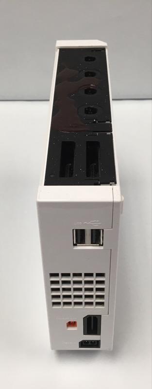 NINTENDO WII CONSOLE RVL-001 WHITE (GAMECUBE COMPATIBLE)