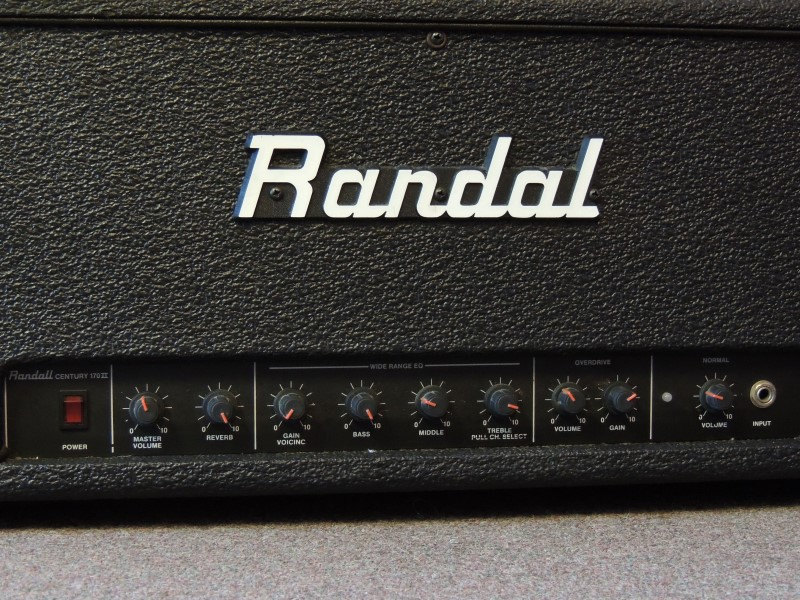 RANDALL HEAD AMP CENTURY 170II 150W
