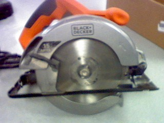 BLACK&DECKER Circular Saw CS1015