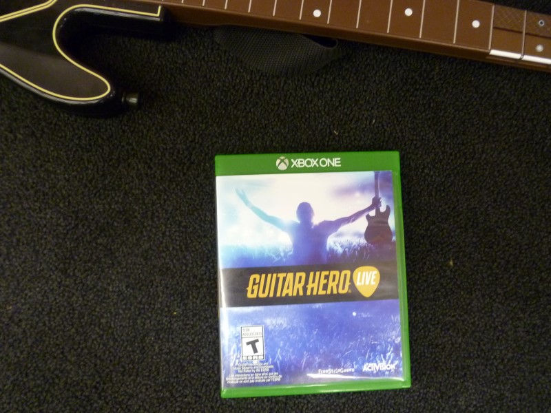 GUITAR HERO LIVE WITH GUITAR FOR XBOX ONE