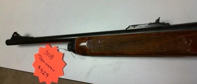 REMINGTON FIREARMS & AMMUNITION Rifle 742 CARBINE .308 WIN