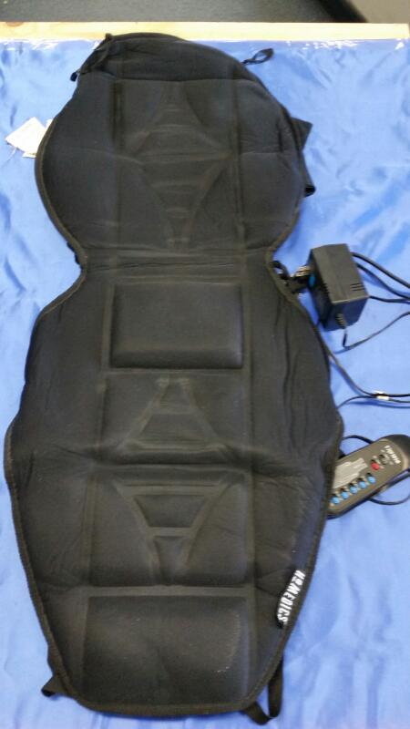 MASSAGING CUSHION BK-600 10 MOTORS BACK MASSAGER