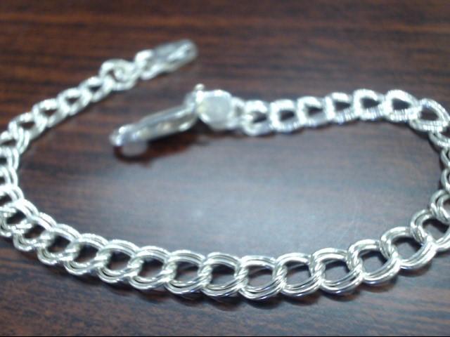 Silver Curb Bracelet 925 Silver 5.7g