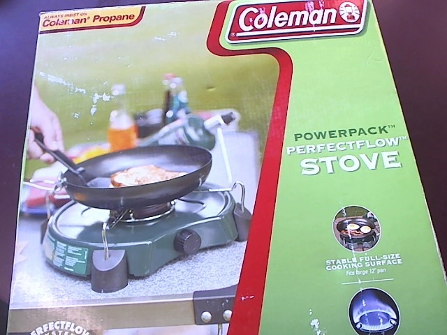 COLEMAN Camping PROPANE STOVE
