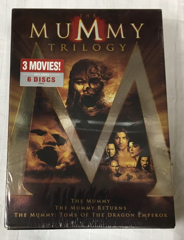 6 DVD BOX SET THE MUMMY TRILOGY WIDESCREEN