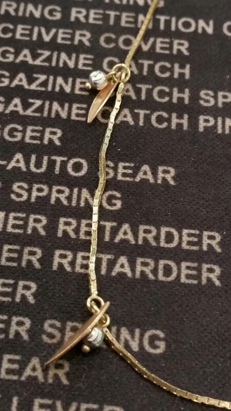 Gold Bracelet 14K Yellow Gold 1.8dwt