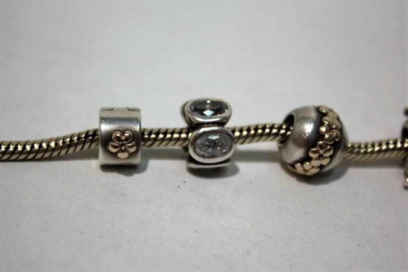 Pandora Gold Bracelet 14K Yellow Gold 16.5g