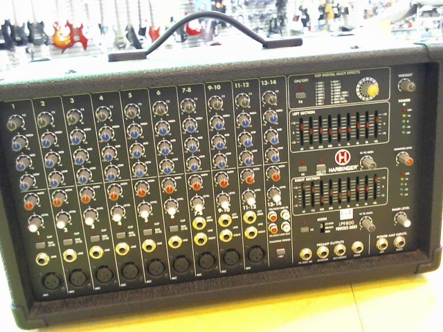 HARBINGER Mixer LP9800