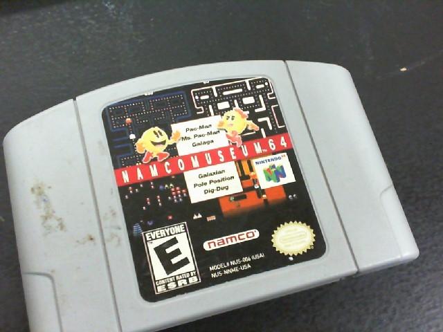 NINTENDO Nintendo 64 Game N64 NAMCOMUSEUM 64