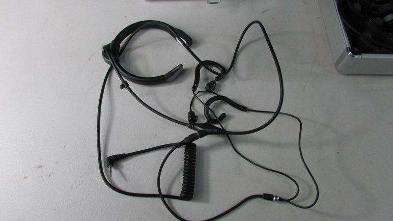 THROAT MIC FIREFOX X2 SET