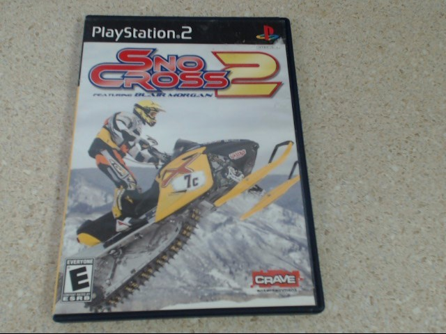 SNO CROSS 2 - PLAYSTATION 2 GAME