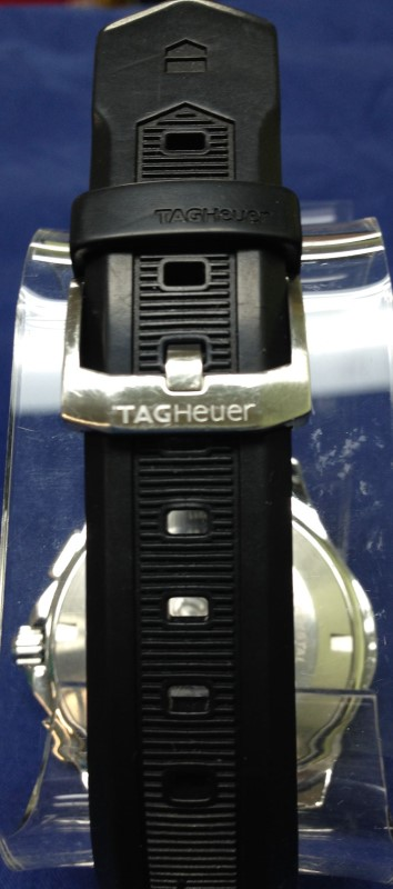TAG Heuer Men's CAF2010.FT8011 Aquaracer Chronograph Rubber Strap