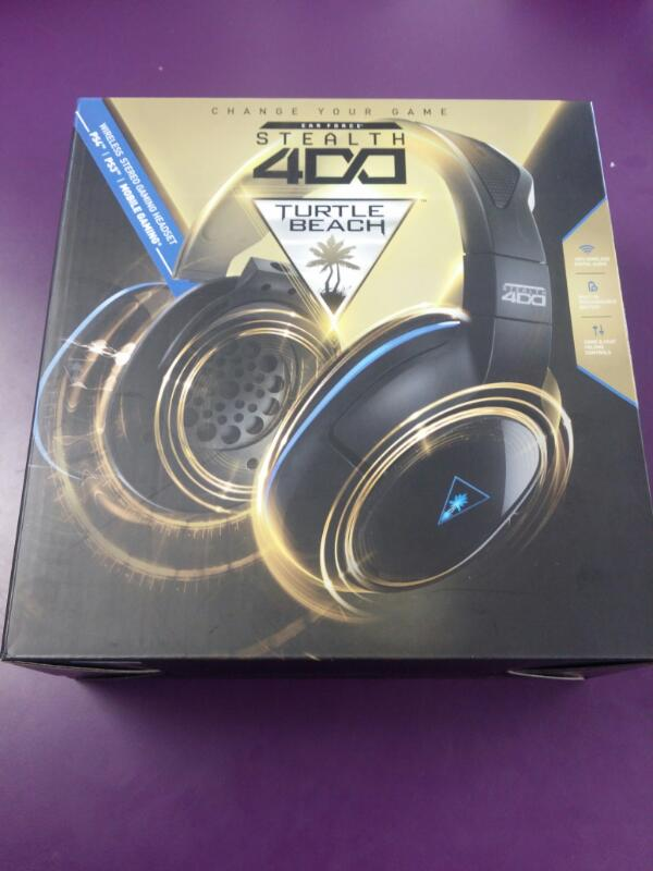 *NEW* Turtle Beach Ear Force Stealth 400 Wireless Gaming Headset PS4
