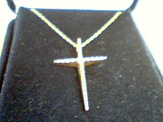 Diamond Necklace .02 CT. 10K Yellow Gold 1.7g