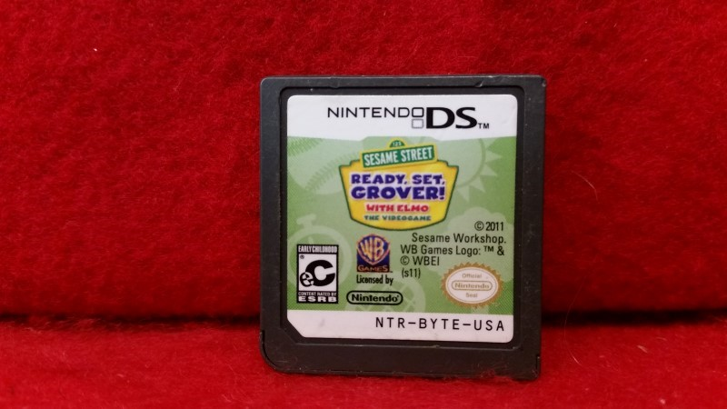 Sesame Street: Ready, Set, Grover (Nintendo DS, 2011)