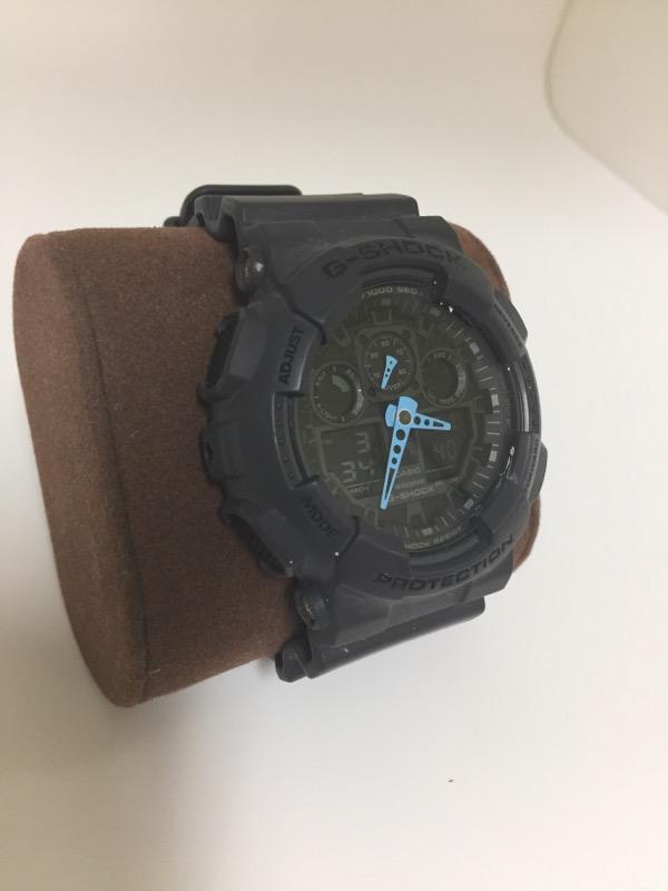 GSHOCK GA-100C WATCH   W/BOX GRAY