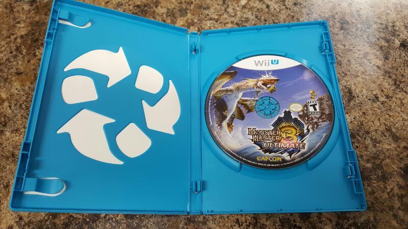 Monster Hunter 3 Ultimate (Nintendo Wii U, 2013)