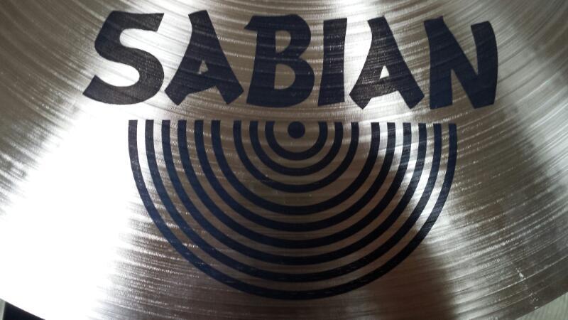 """SABIAN Cymbal AA 18"""" THIN CRASH"""