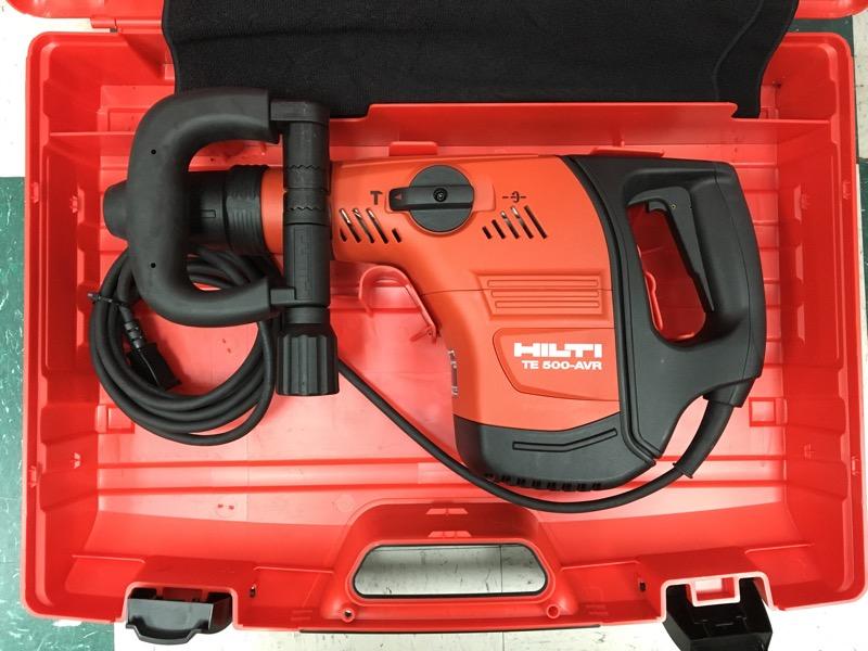 HILTI 120-Volt SDS-MAX TE 500-AVR Demolition Hammer
