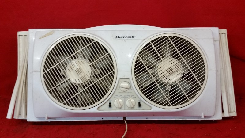 Duracraft Electric Dual Fan