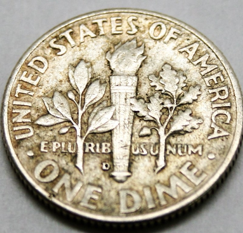UNITED STATES SILVER 1963 D ROOSEVELT DIME