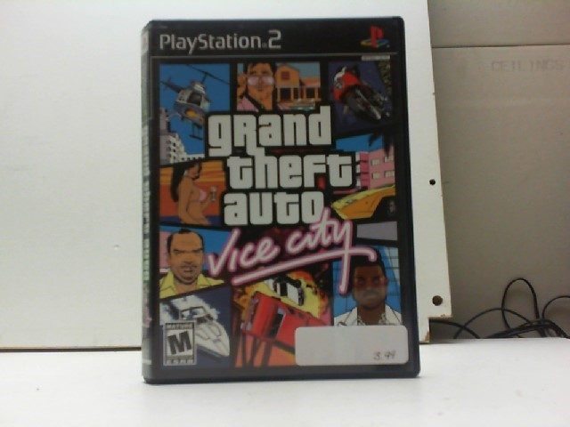 SONY Sony PlayStation 2 Game GRAND THEFT AUTO VICE CITY PS2