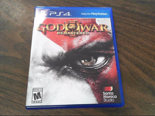 SONY Sony PlayStation 4 Game GOD OF WAR III REMASTERED - PS4