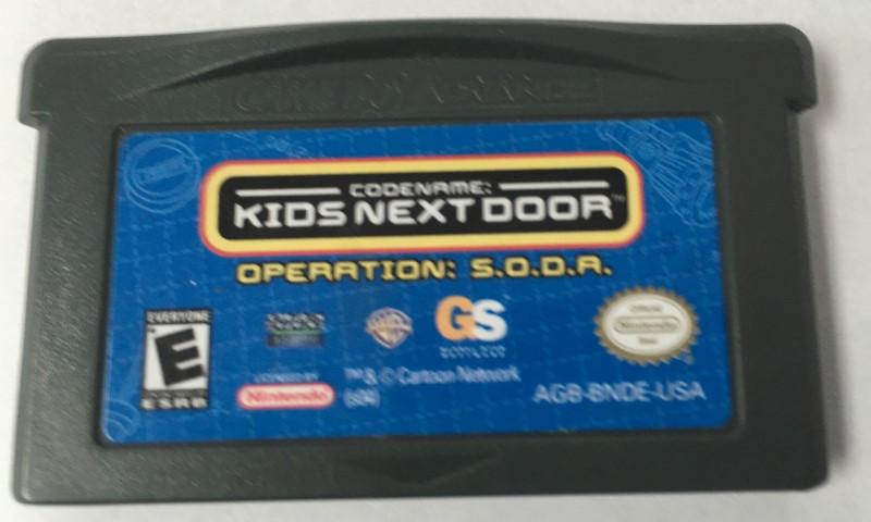 NINTENDO Nintendo GBA Game CODENAME: KIDS NEXT DOOR VOL. 1 (GBA 2004)