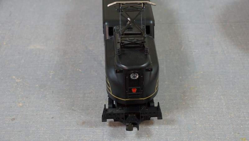 MTH GREEN 1934 GOLD STRIPE NO: 4899