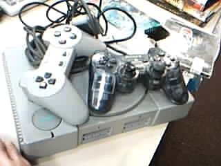 Sony Playstation PS1 w 2 Contollers, Cables