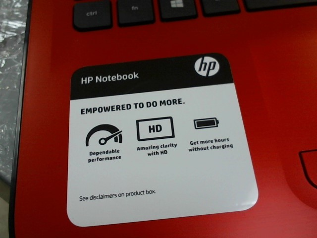 HEWLETT PACKARD Laptop/Netbook 15-AY016NR