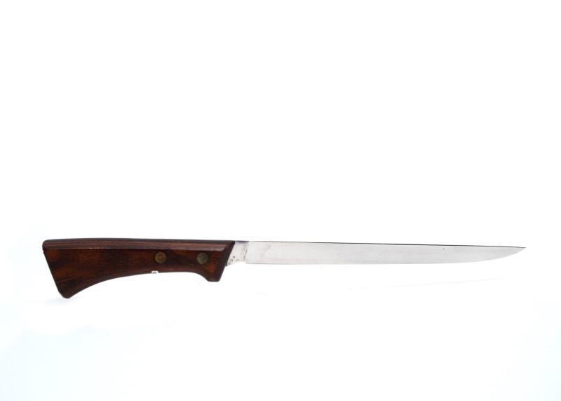 Vintage U.S.A. Western S-W769 Super Fillet Knife W/ Original Sheath*
