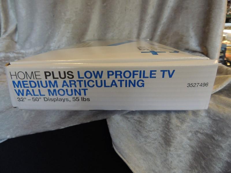 "HomePlus+ Low Profile TV Medium Articulating Wall Mount 32""-50"" Displays"