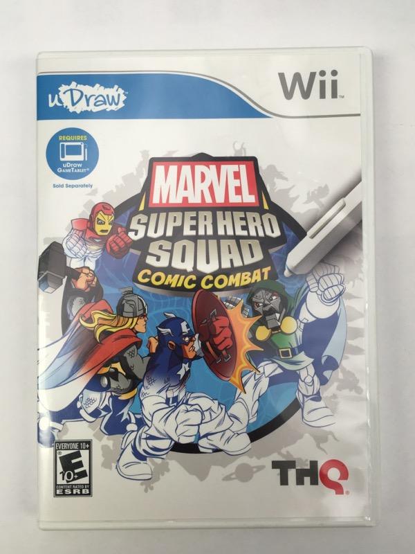Marvel Super Hero Squad: Comic Combat - (Nintendo Wii, 2011)