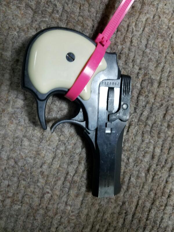 HIGH STANDARD Pistol DERRINGER-Broken