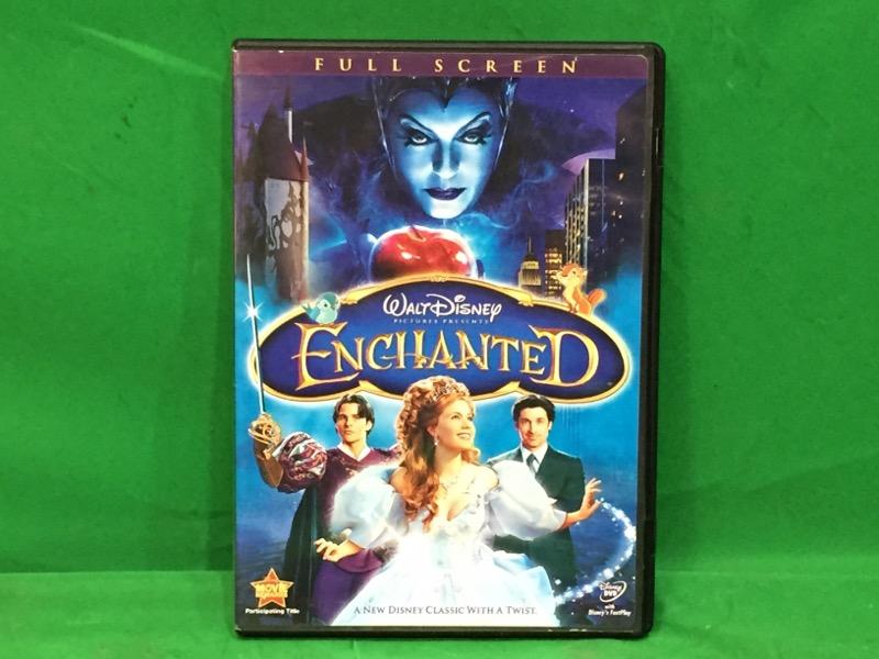 Walt Disney's Enchanted (DVD, 2008, Fullscreen)