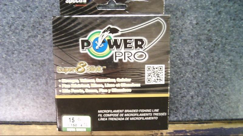 SPECTRA POWER PRO super 8 slick FISHINE LINE 15LB 150yd