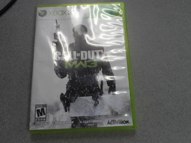 MICROSOFT Microsoft XBOX 360 Game GAME CALL OF DUTY MW3
