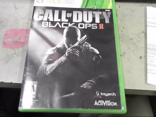 MICROSOFT Microsoft XBOX 360 Game CALL OF DUTY BLACK OPS II - XBOX 360