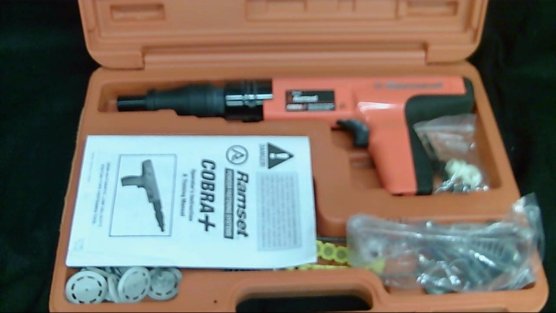 Ramset Cobra+ Corba Plus .27 Caliber Semi Auto Powder Actuated Fastener Tool