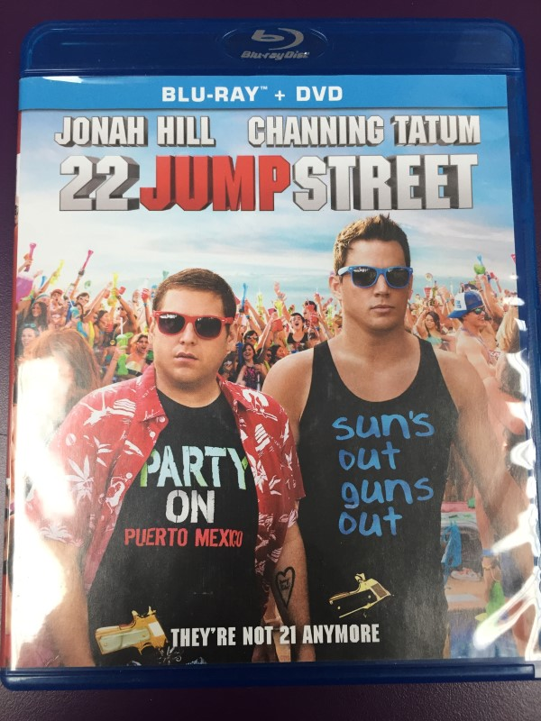 22 JUMP STREET BLU-RAY AND DVD